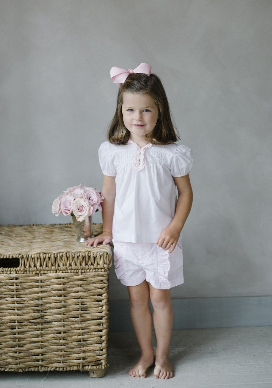 little english, little english clothing, classic children's clothing, european children's clothing, embroidered blouse for baby, baby embroidered blouse, embroidered tea blouse, tea blouses for girls, traditional children's clothing, embroidered baby shirt, spanish embroidered baby blouse, bespoke baby blouse, floral embroidered top, preppy baby, classic baby