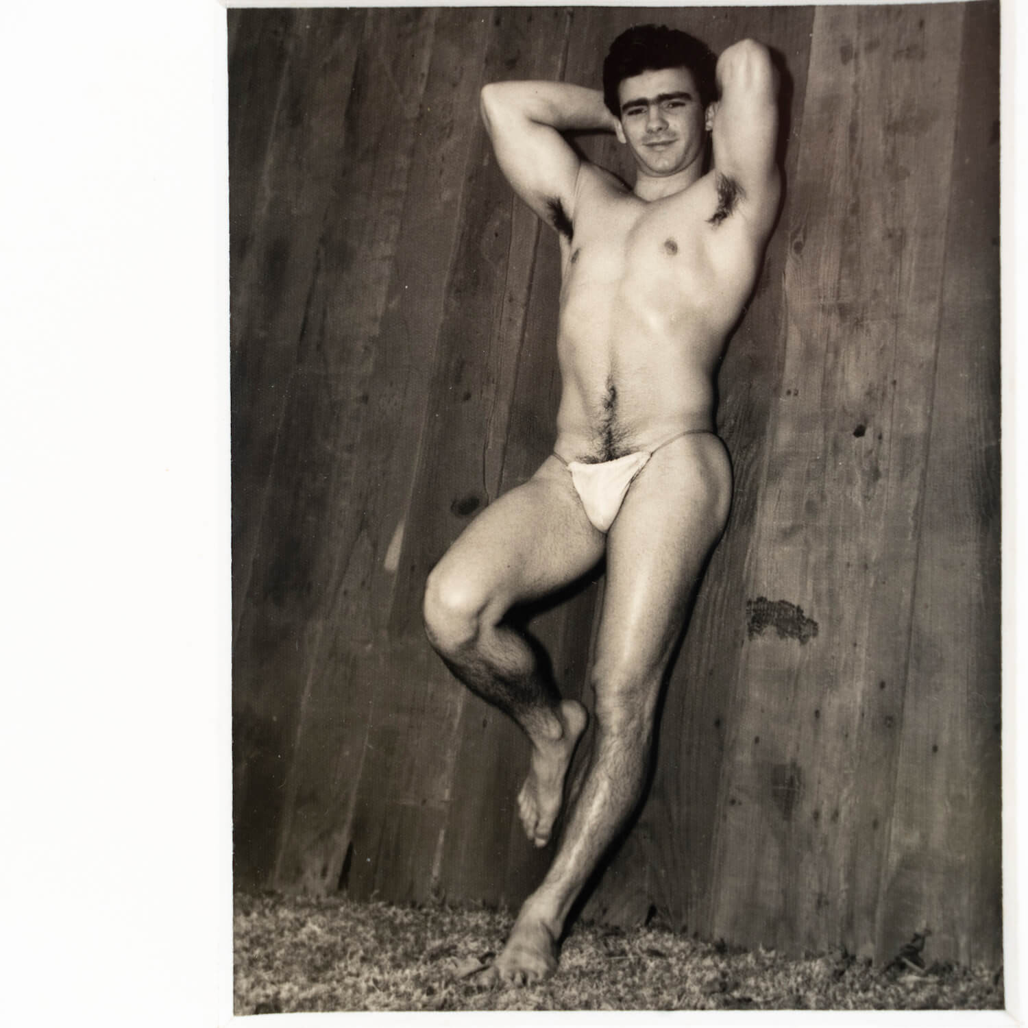 Photograph Of Male, Unsigned, Circa 1950