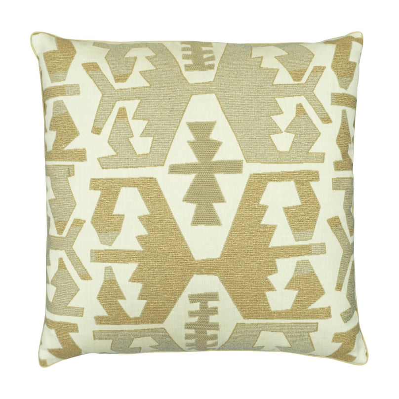 "22"" Neo Kilim Pillow - Toast"