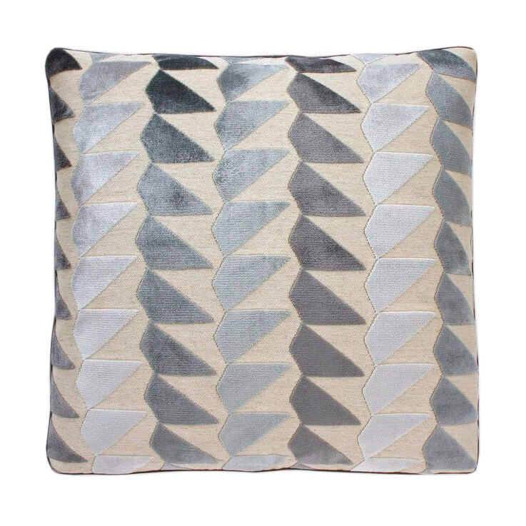24 pacer cut velvet pillow