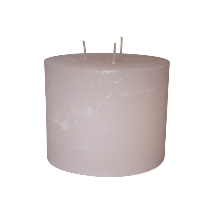3-Wick Candle, Off White