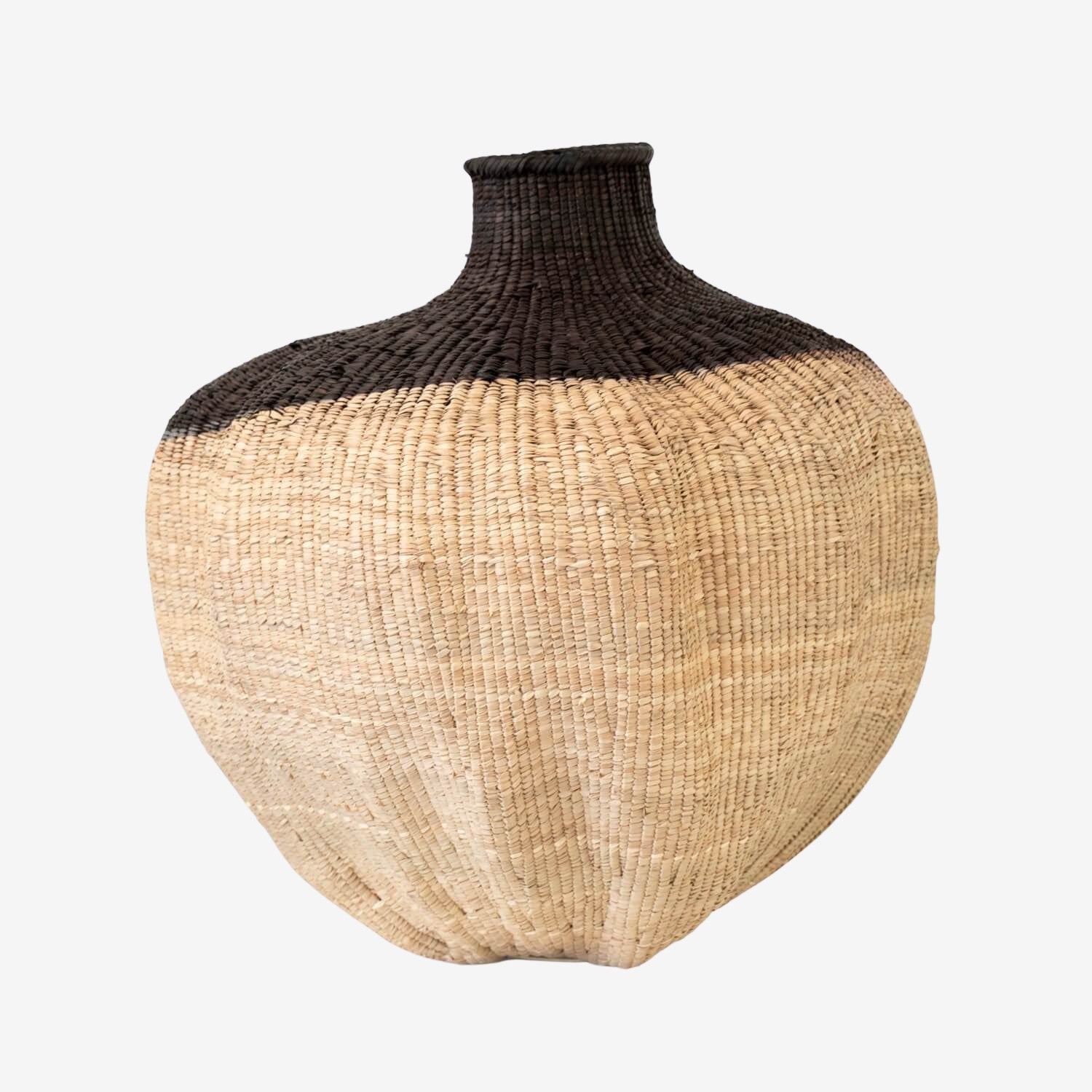 African Dipped Gourd Basket - Multi Sizes