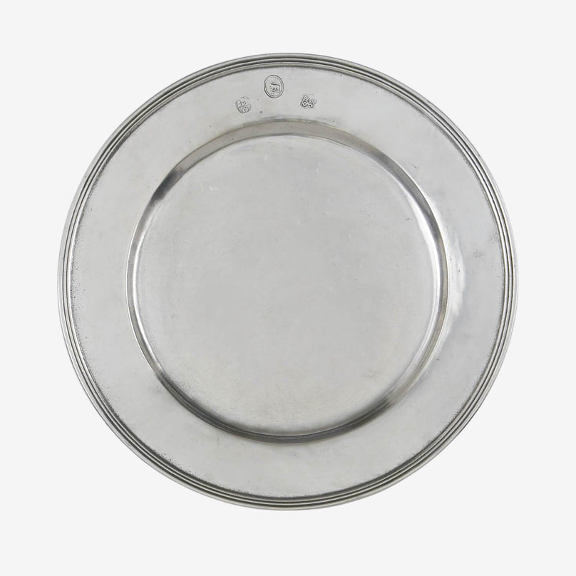 All-Pewter Charger Plate