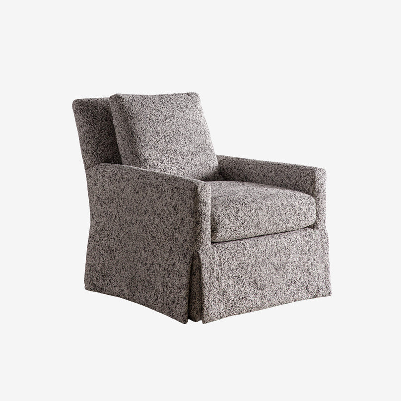Axel V. Club Swivel Chair