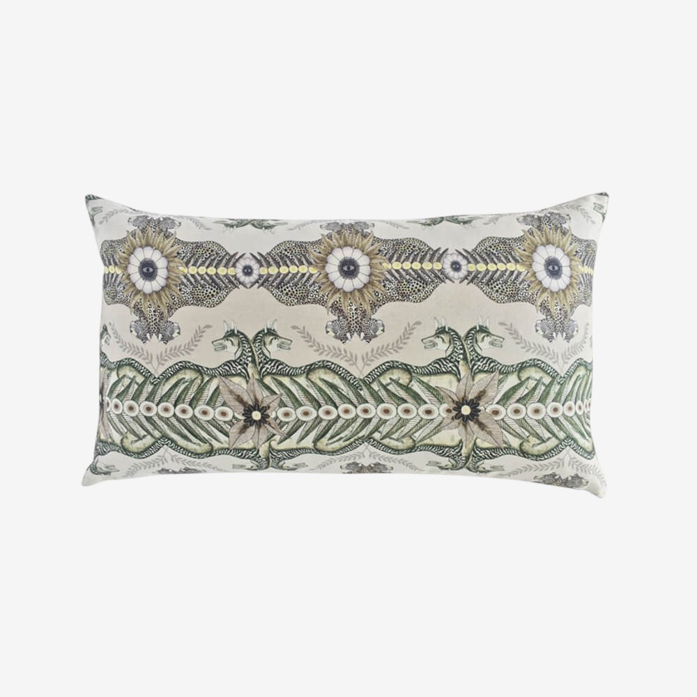 Bush Bandits Linen Rectangular Pillow
