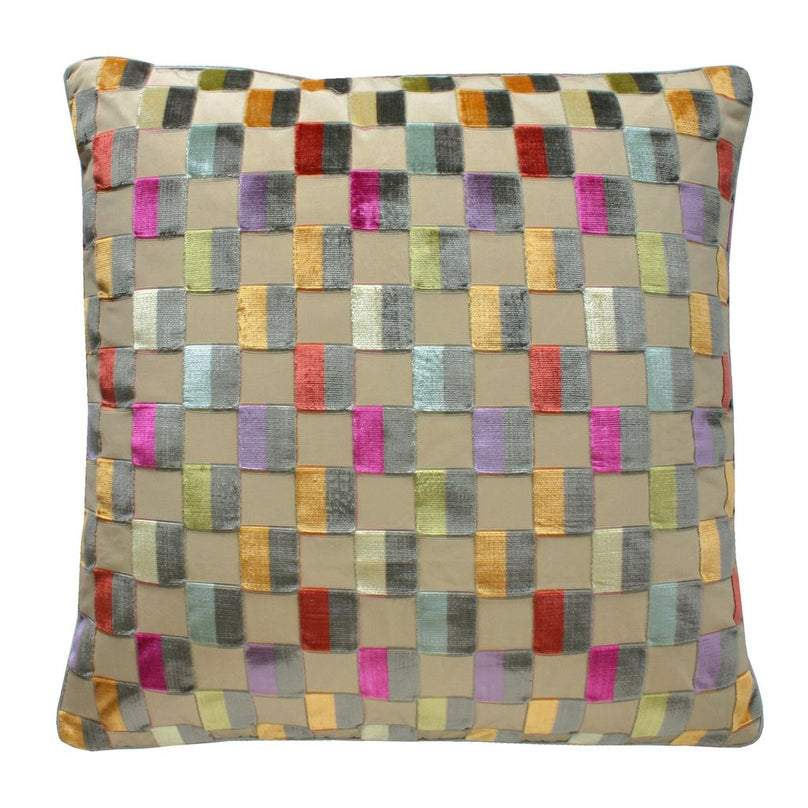 Clarendon Check Pillow