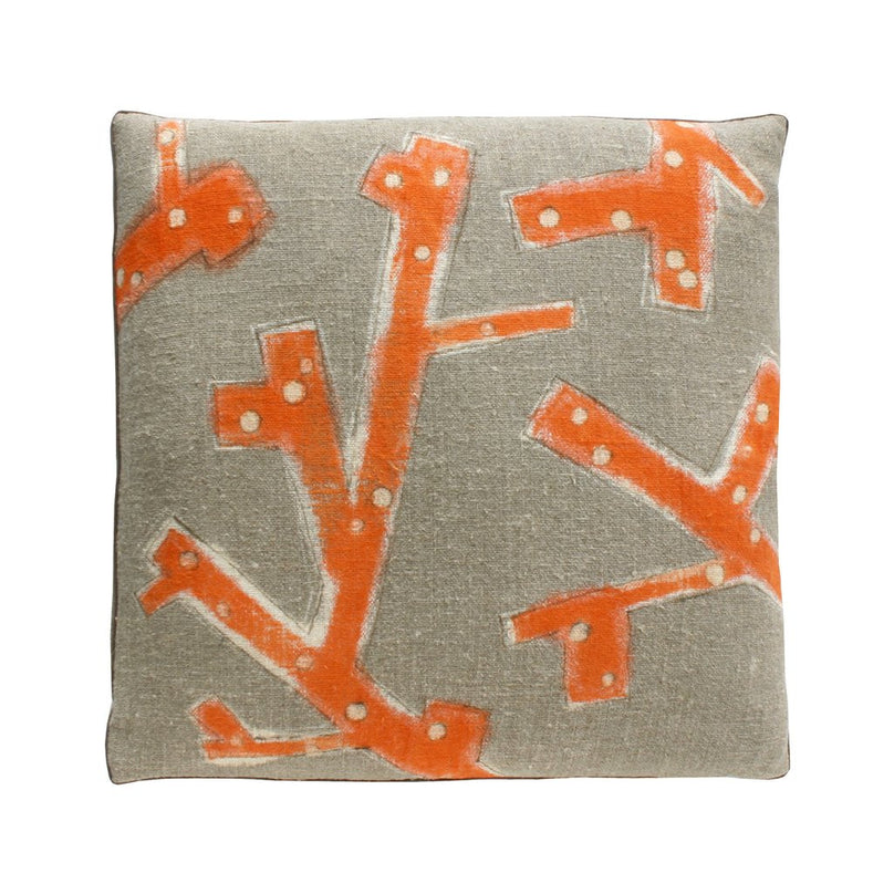 Coral Branch Pillow
