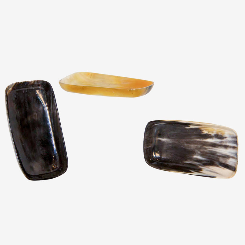 Cow Horn Bowl - Rectangular
