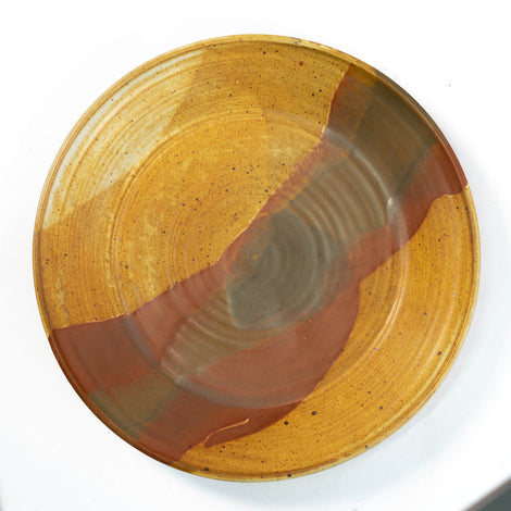 American Studio Pottery Charger, Circa 1975, Unsigned