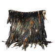 Rooster Feather Pillow