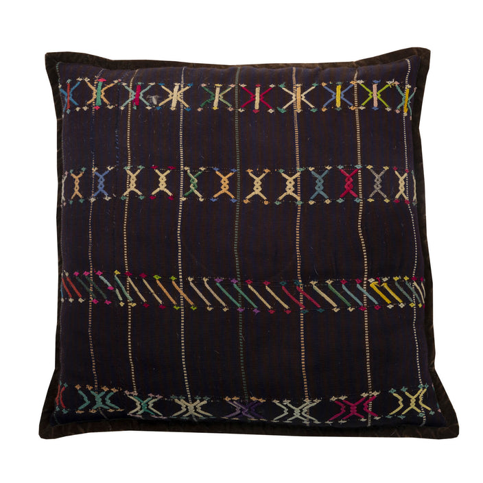 Black Guatemala Pillow