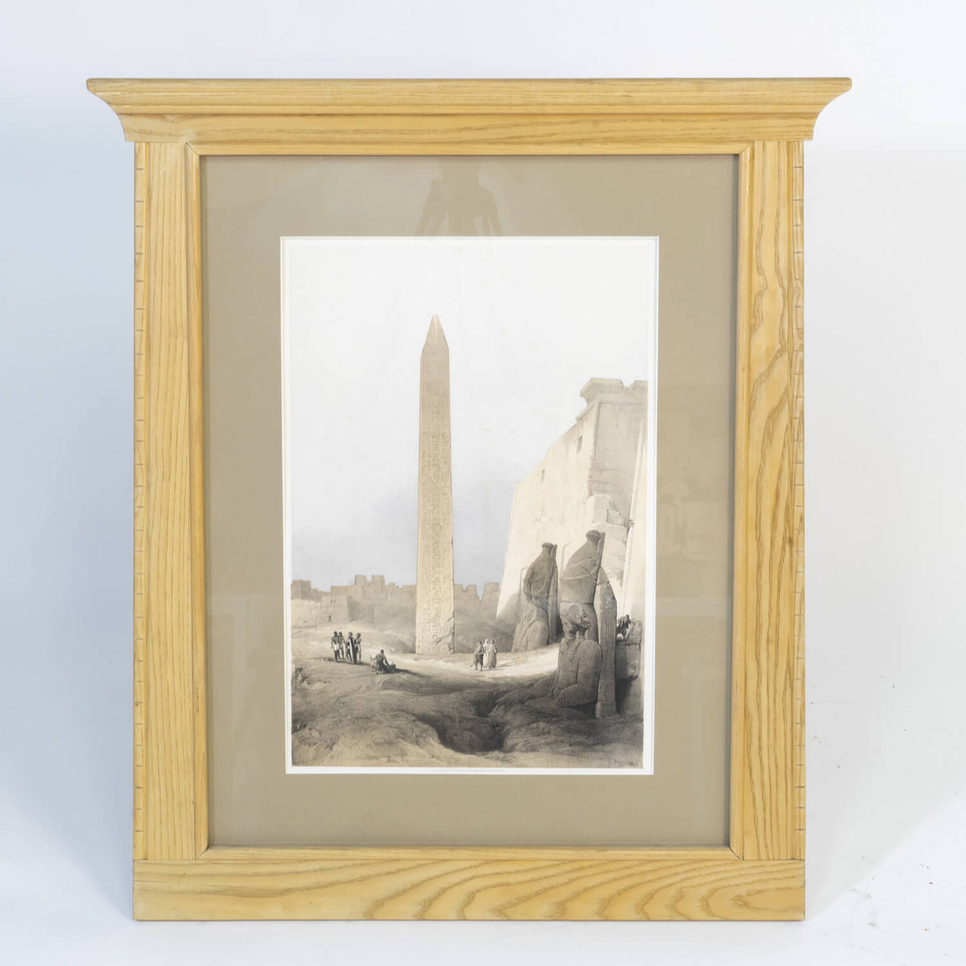 Print Of Obelisk From Roberts Egyptian Travels
