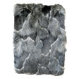 Onyx Fox Faux Fur Throw