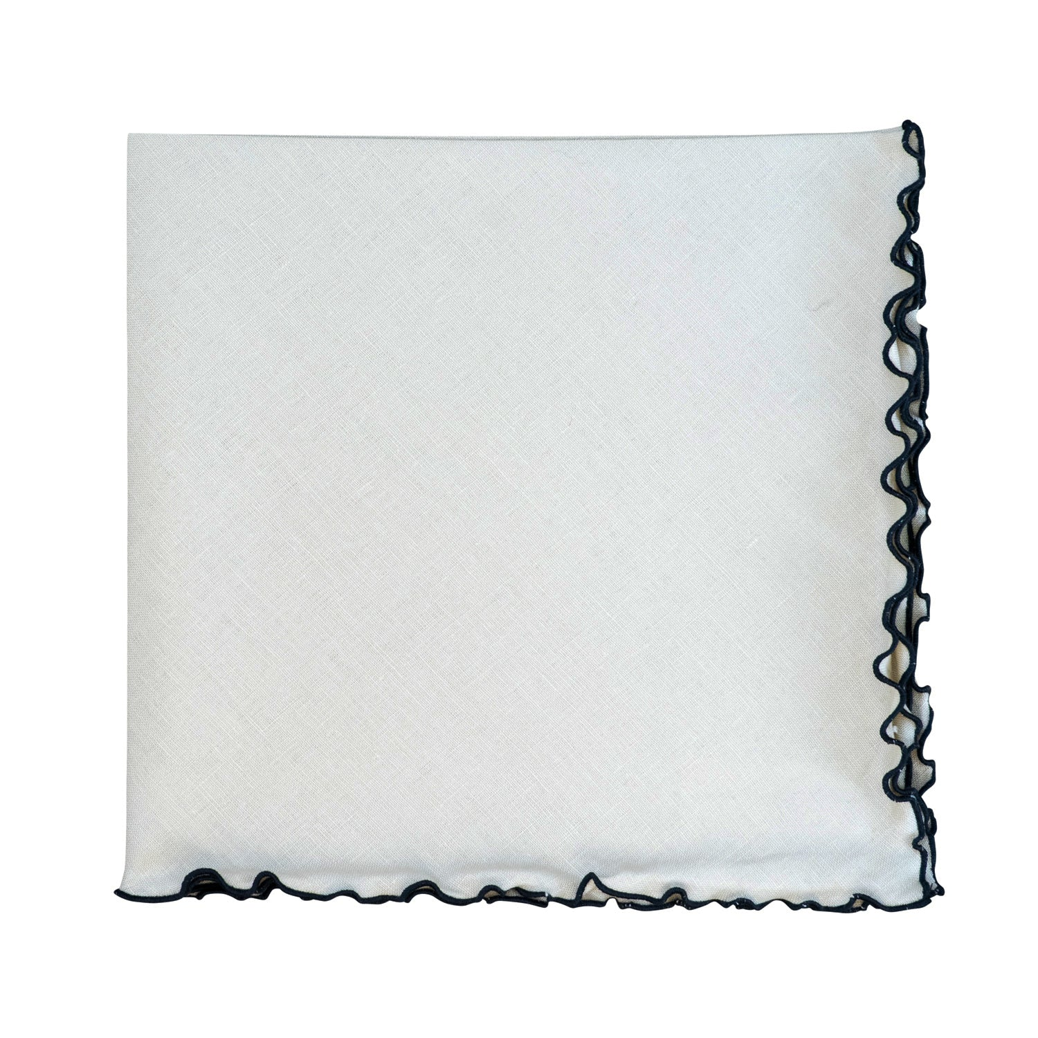 Linen Wave Edge Napkin