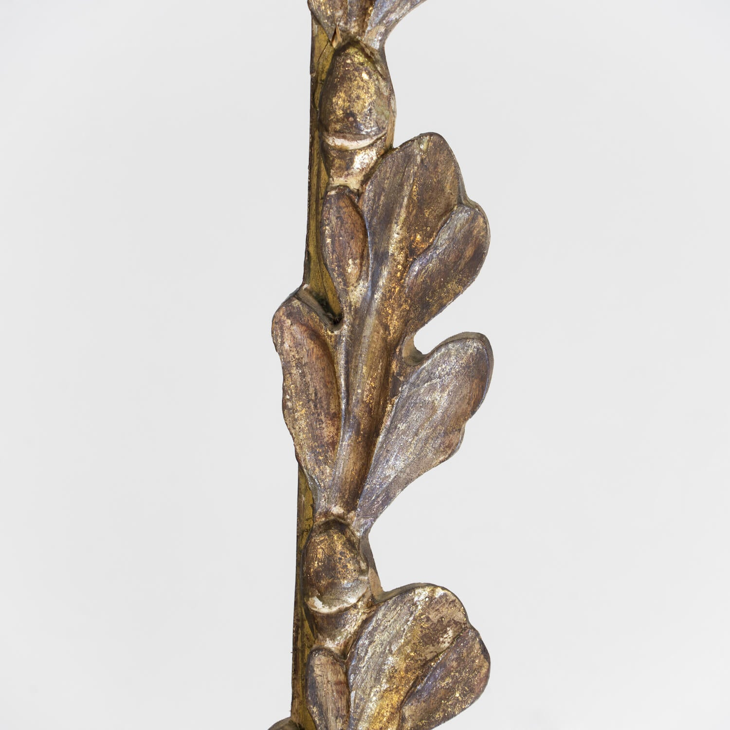 Pair Of Carved And Gilt Fragment Lamps