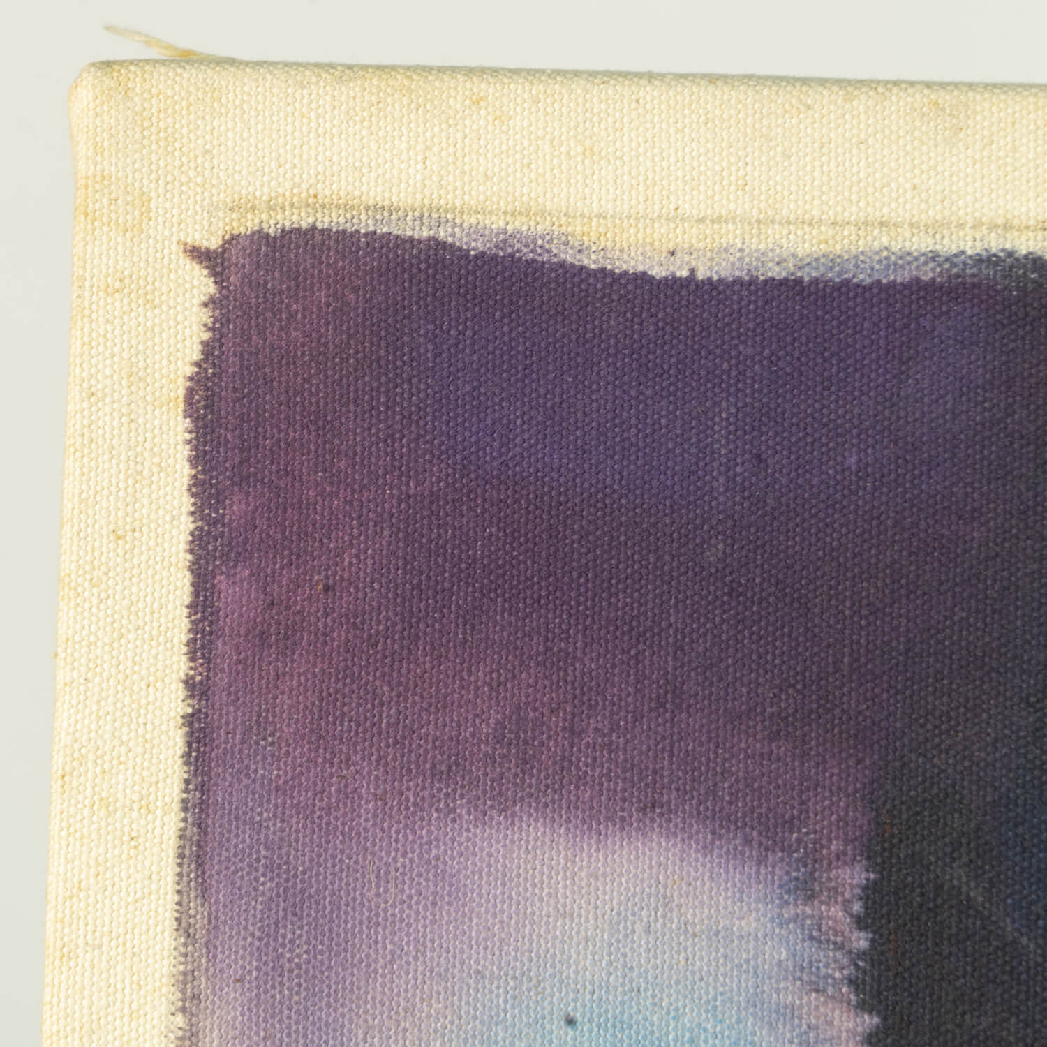 Abstract Painting, Dated 1976 On Verso, Signed M Heuges