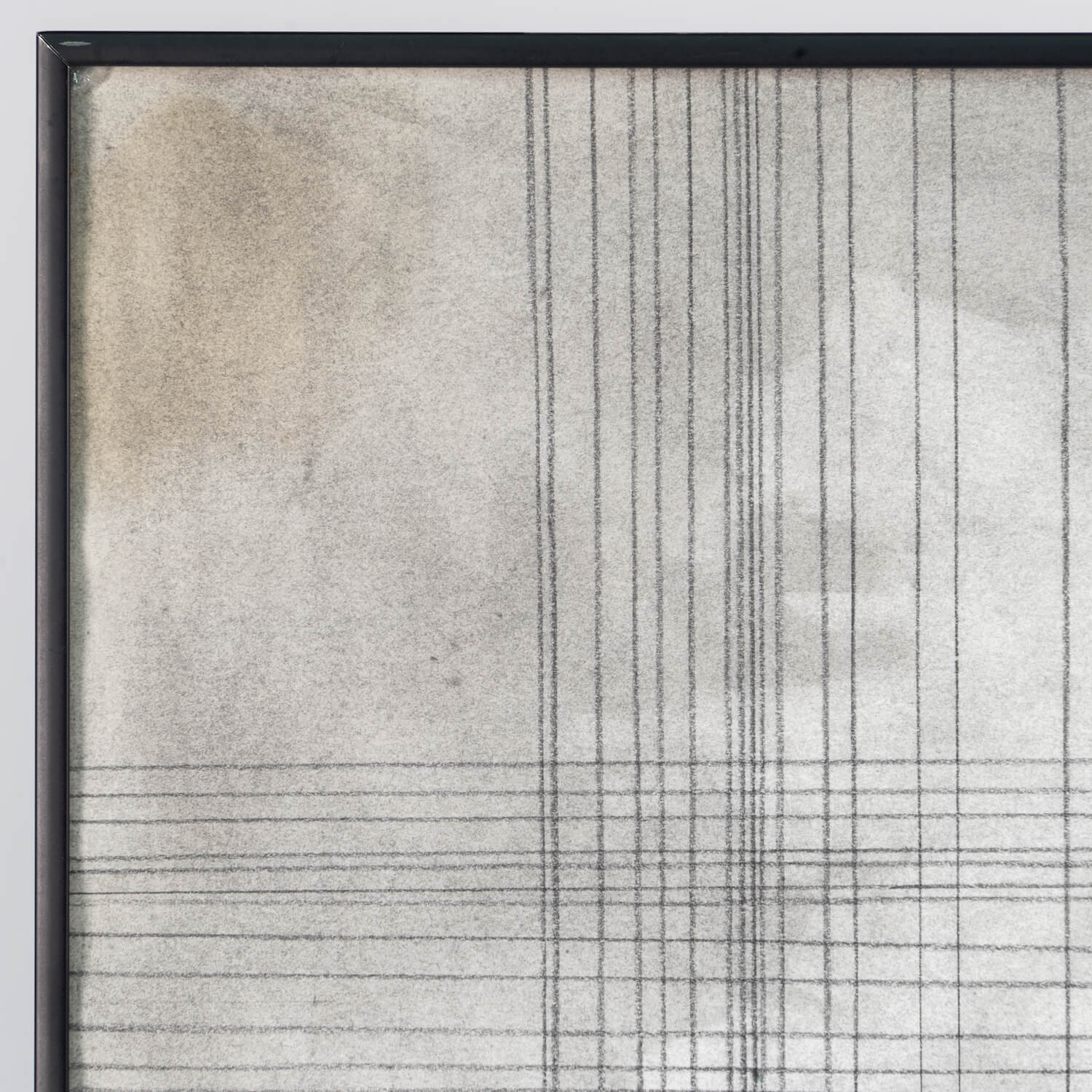 Abstract Graphite Drawing, Dated 77, Signed S Pogano