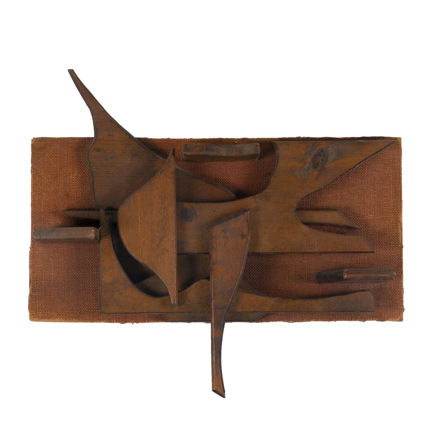Abstract Wood Construction, Circa 1960