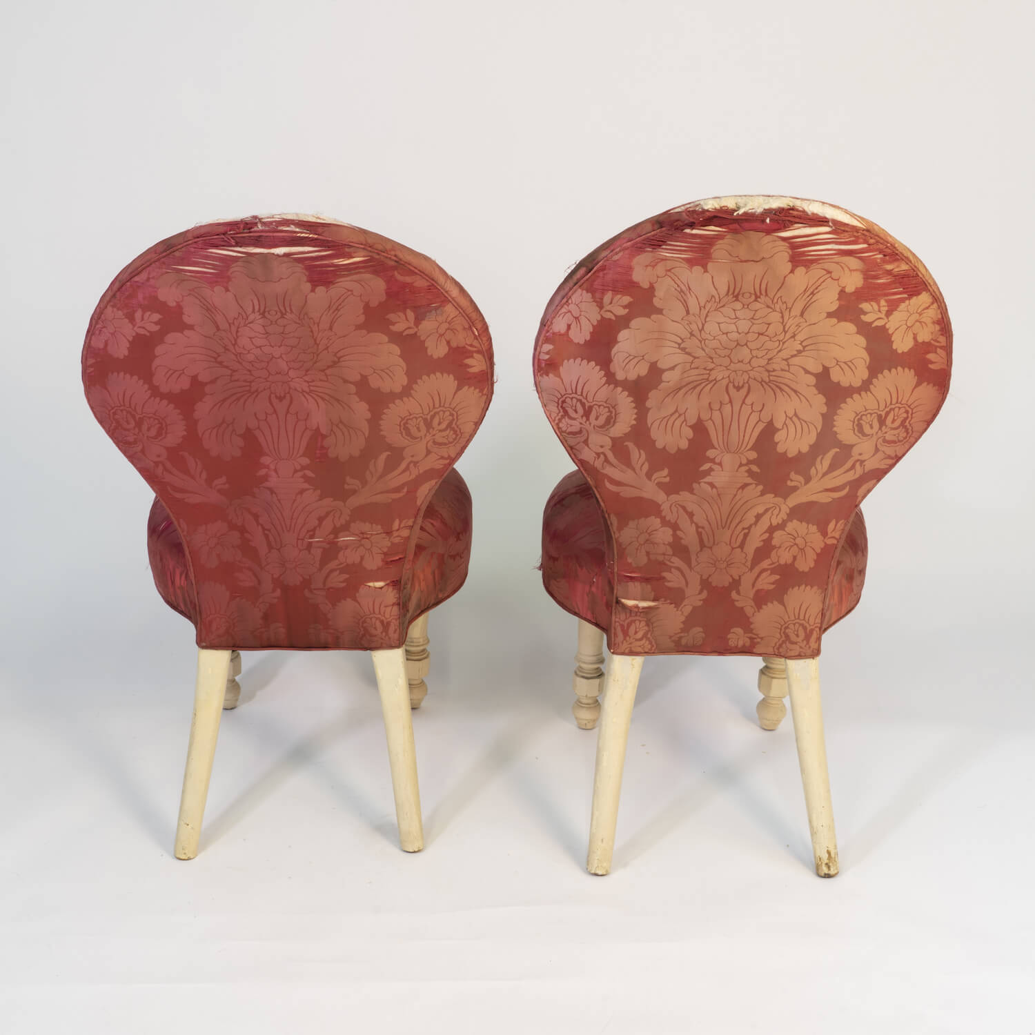 Pair Of Upholstered Ballroom Chairs