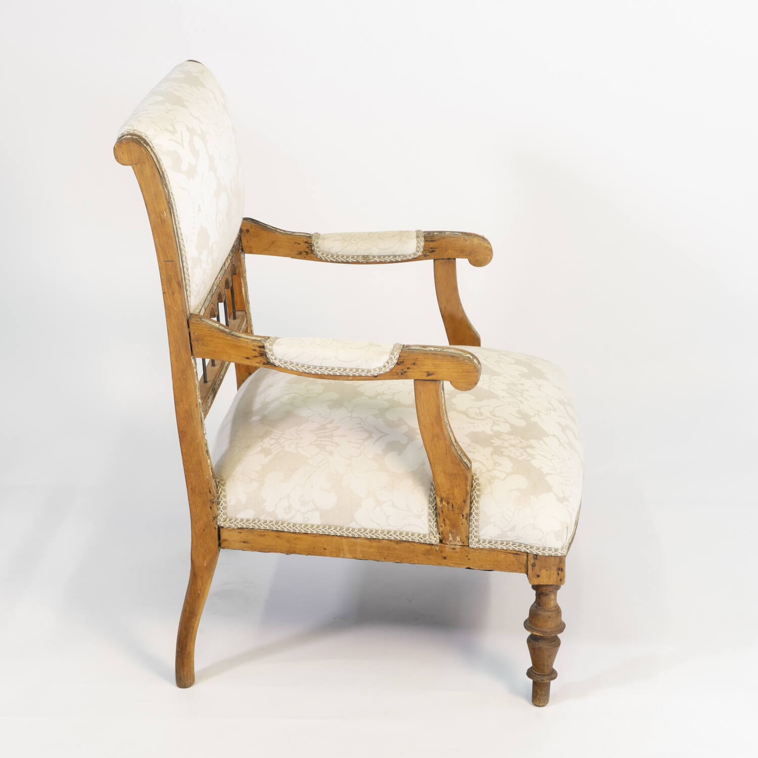 Pair Of Anglo Indian Arm Chairs, Circa 1900