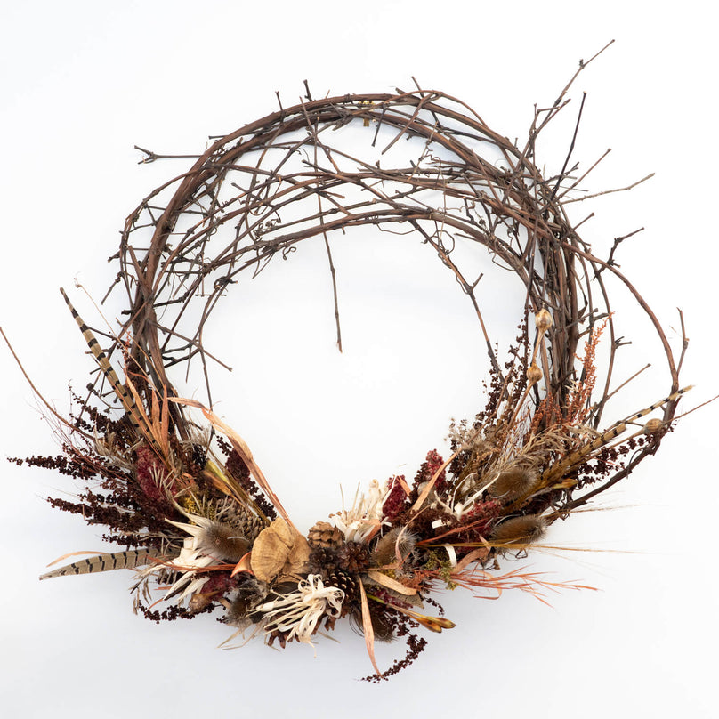 Grapevine Wreath - Heartwood