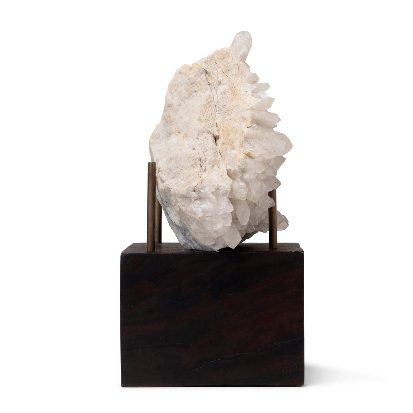 Quartz Cluster w/ Display Stand