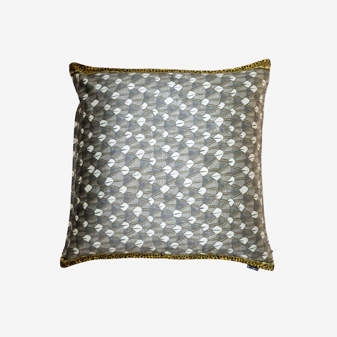 Decorative Feather Velvet Pillow