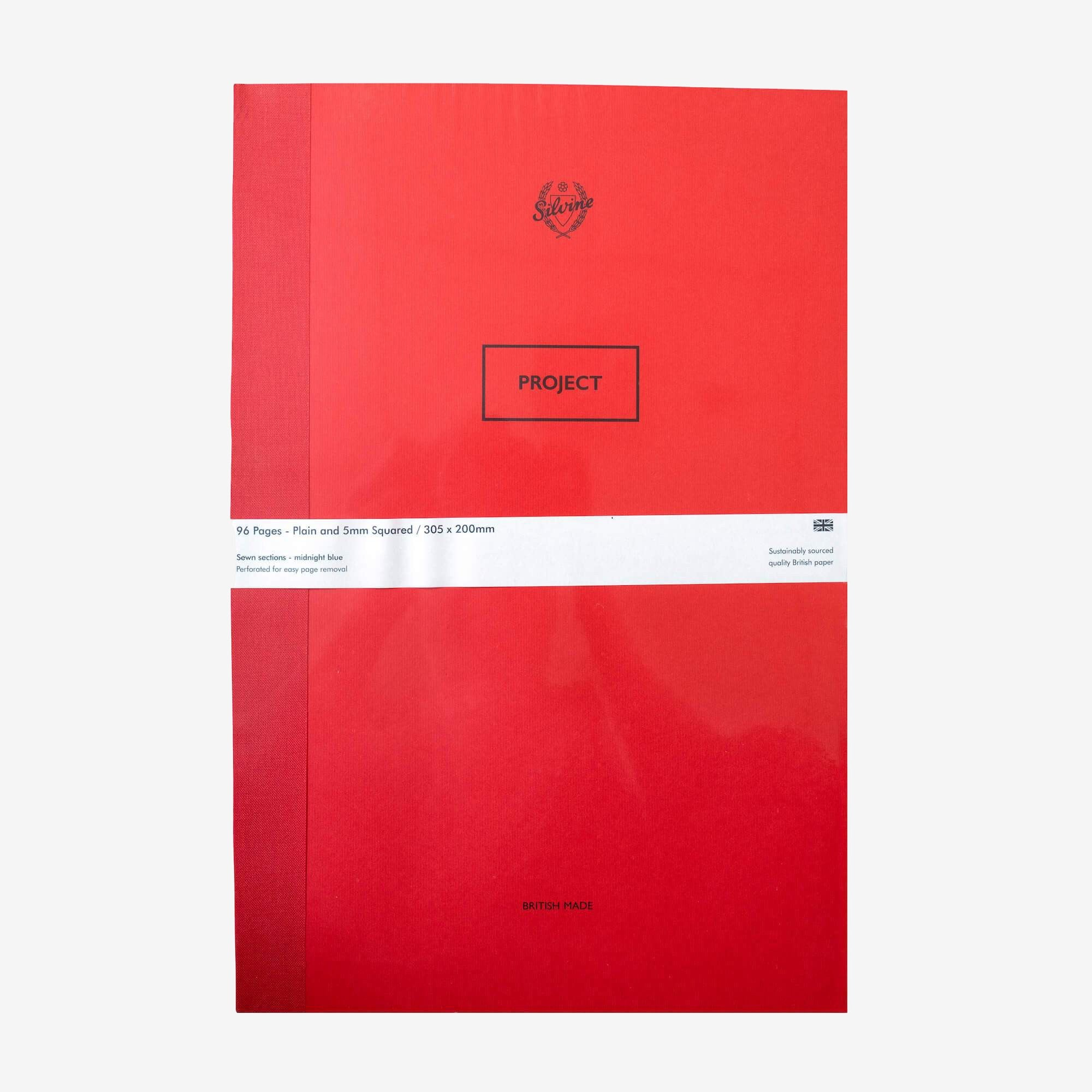"""English Red """"Project"""" Notebook"""