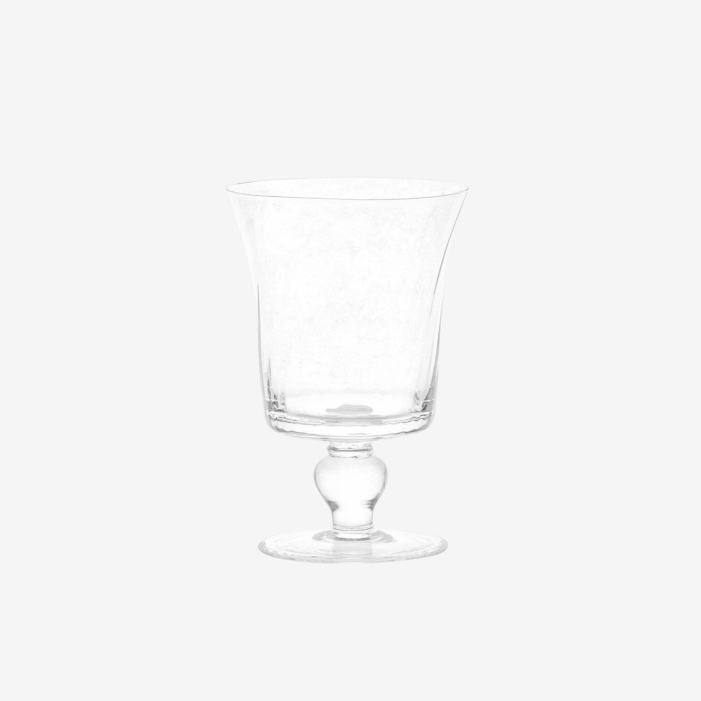Espiral White Water Glass