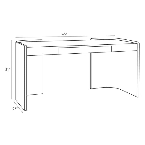 Grand Curvatures Desk additional configuration 1