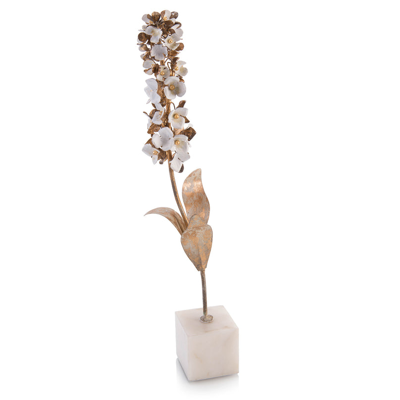 Foxglove Flower Stem on Marble