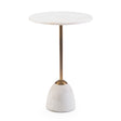 Dusty Martini Table - Rounded Base