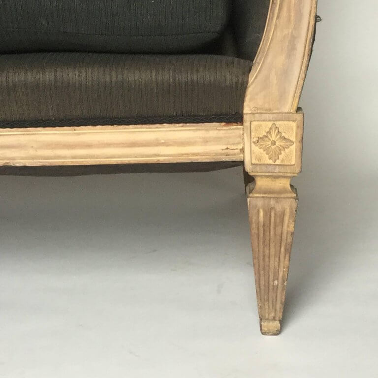 Late 19th Century Regency Settee