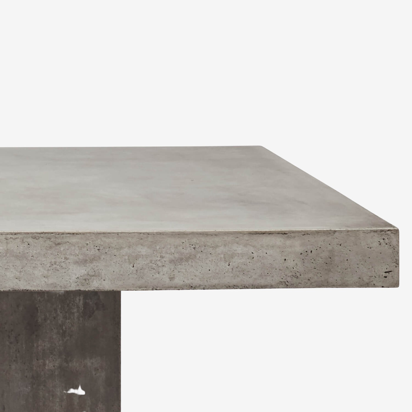 Monolithic Rectangle Cement Table