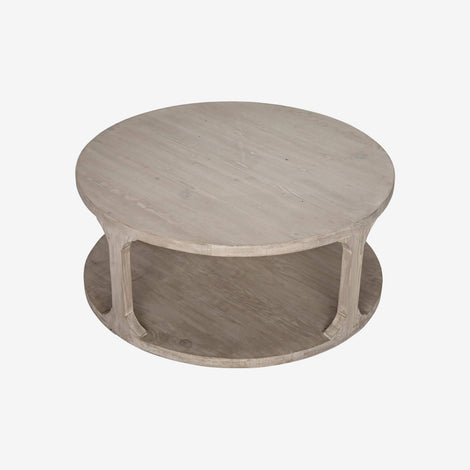 Montreux Round Coffee Table - Reclaimed