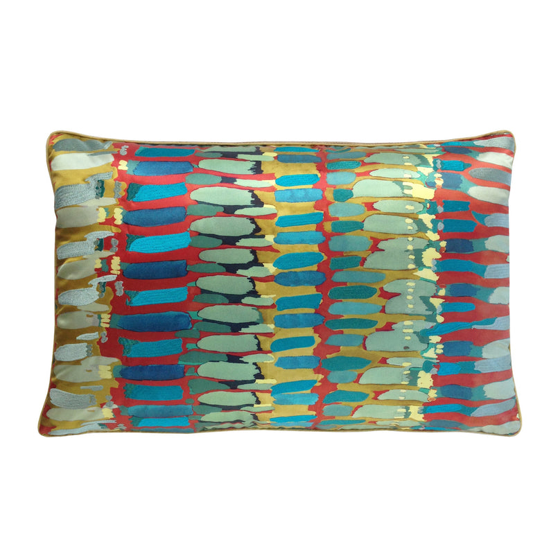 "14"" x 20"" Painted Strokes Pillow"