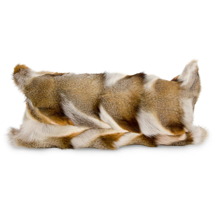 Lumbar Fur Pillow - Light