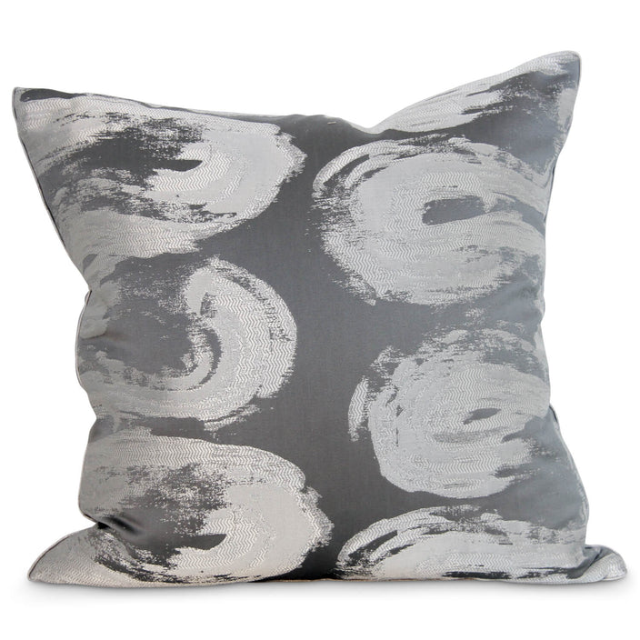 "22"" Cheney Vine Pillow - Navy"