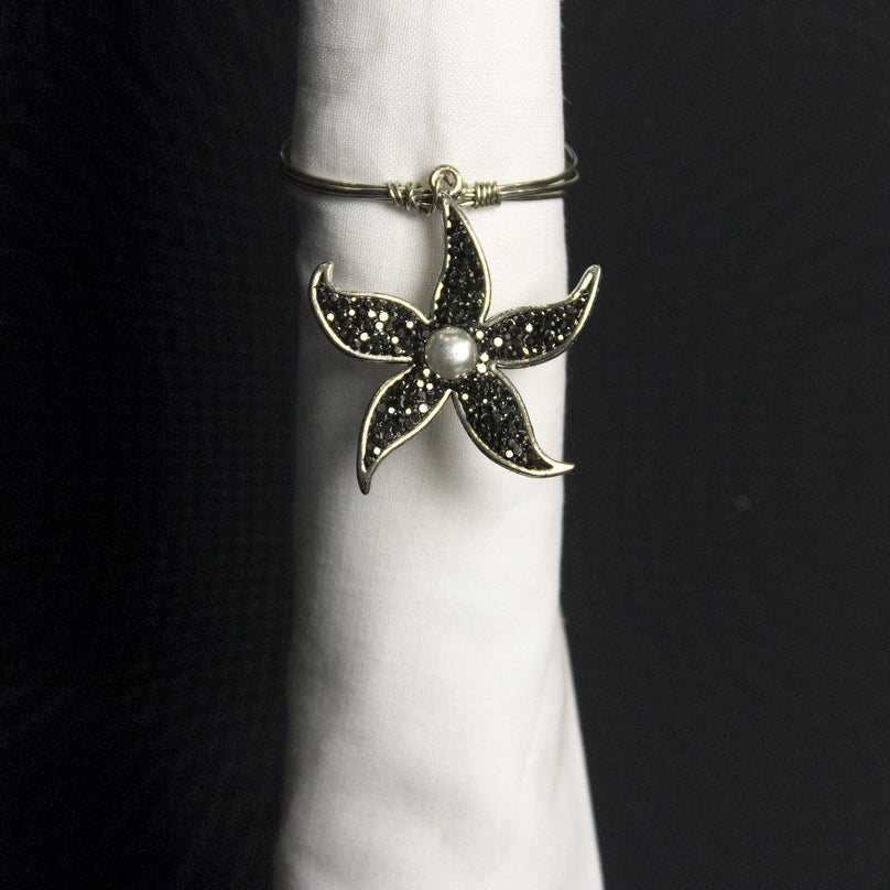 Marcasite Starfish Napkin Ring
