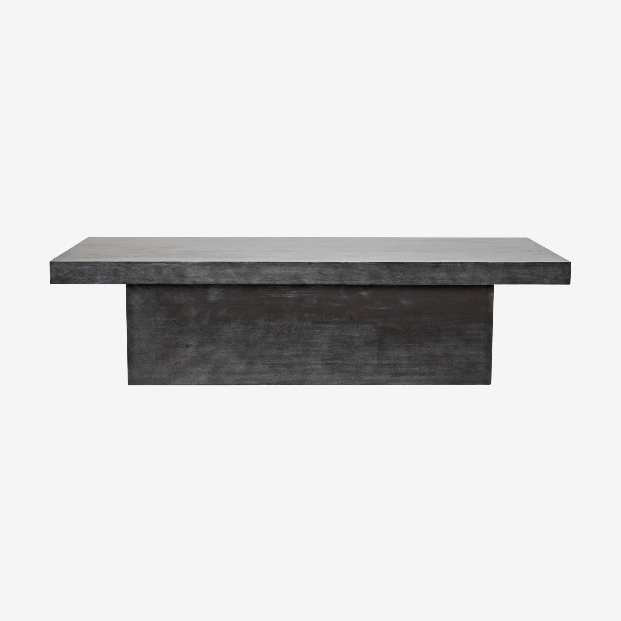 Plain Zinc Coffee Table