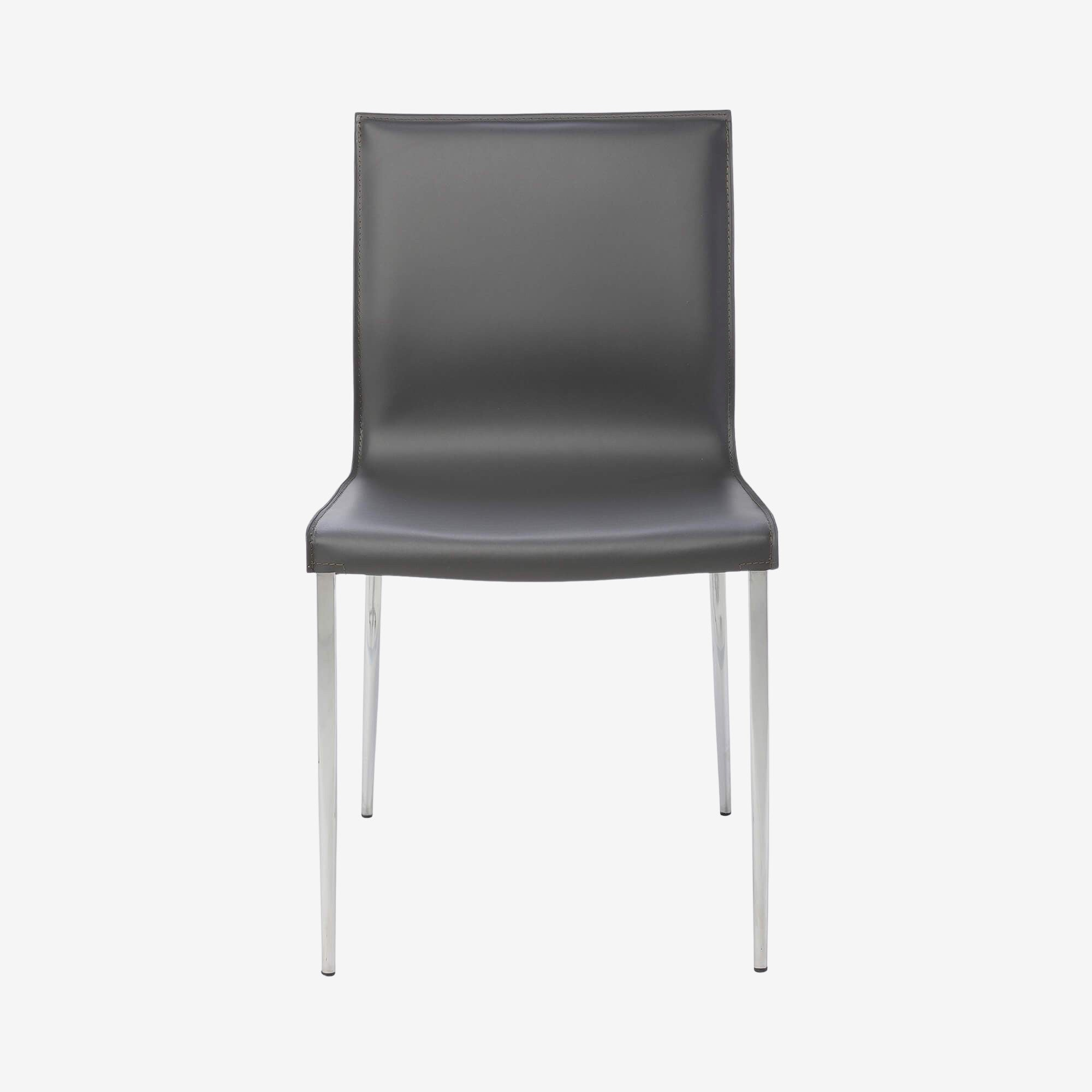 Strega Leather Side Chair