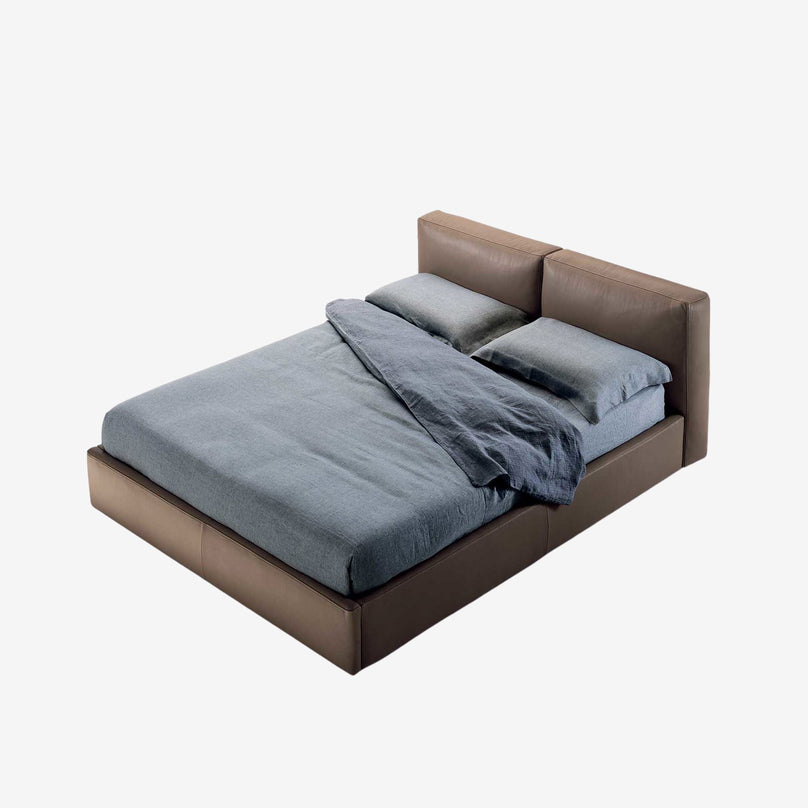 The Street Leather Bed