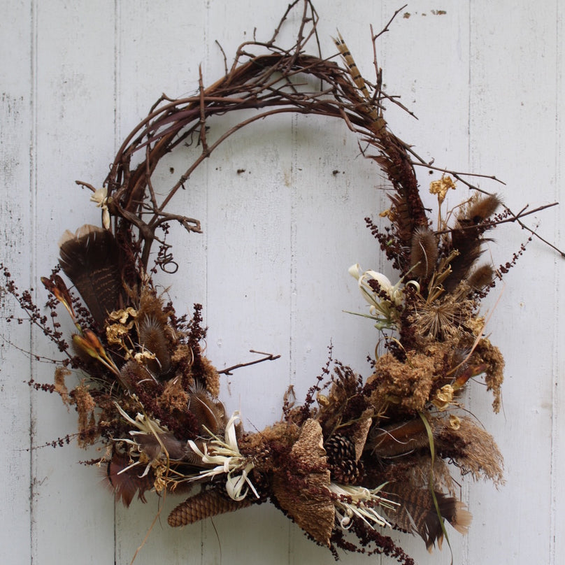 Grapevine Wreath - Brown Turkey