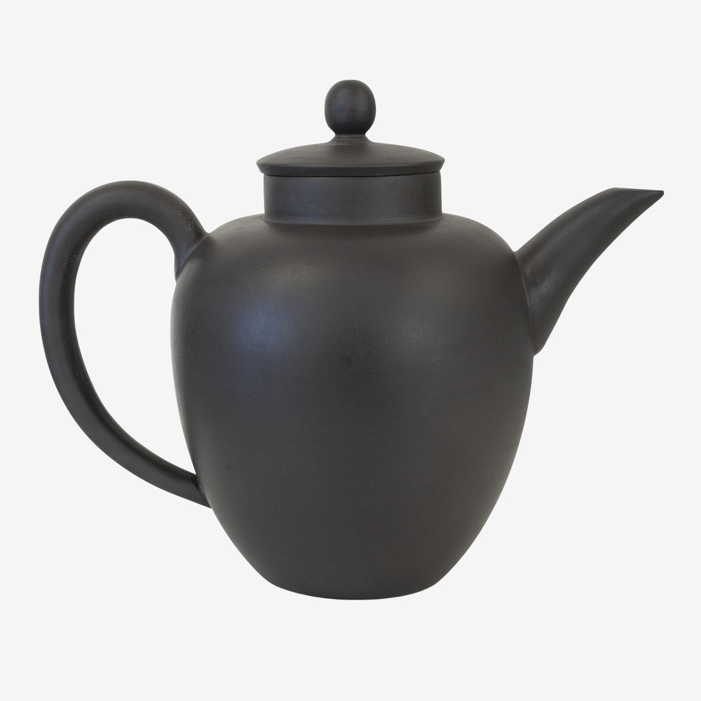 Yixing Oval Teapot, Black