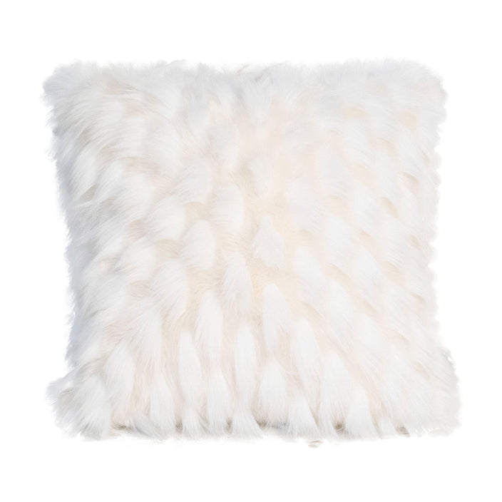 Arctic Fox Decorative Pillow