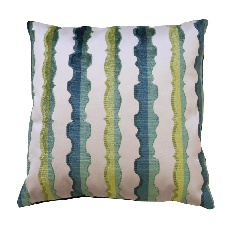 Balustrade Pillow, Agean - 22""