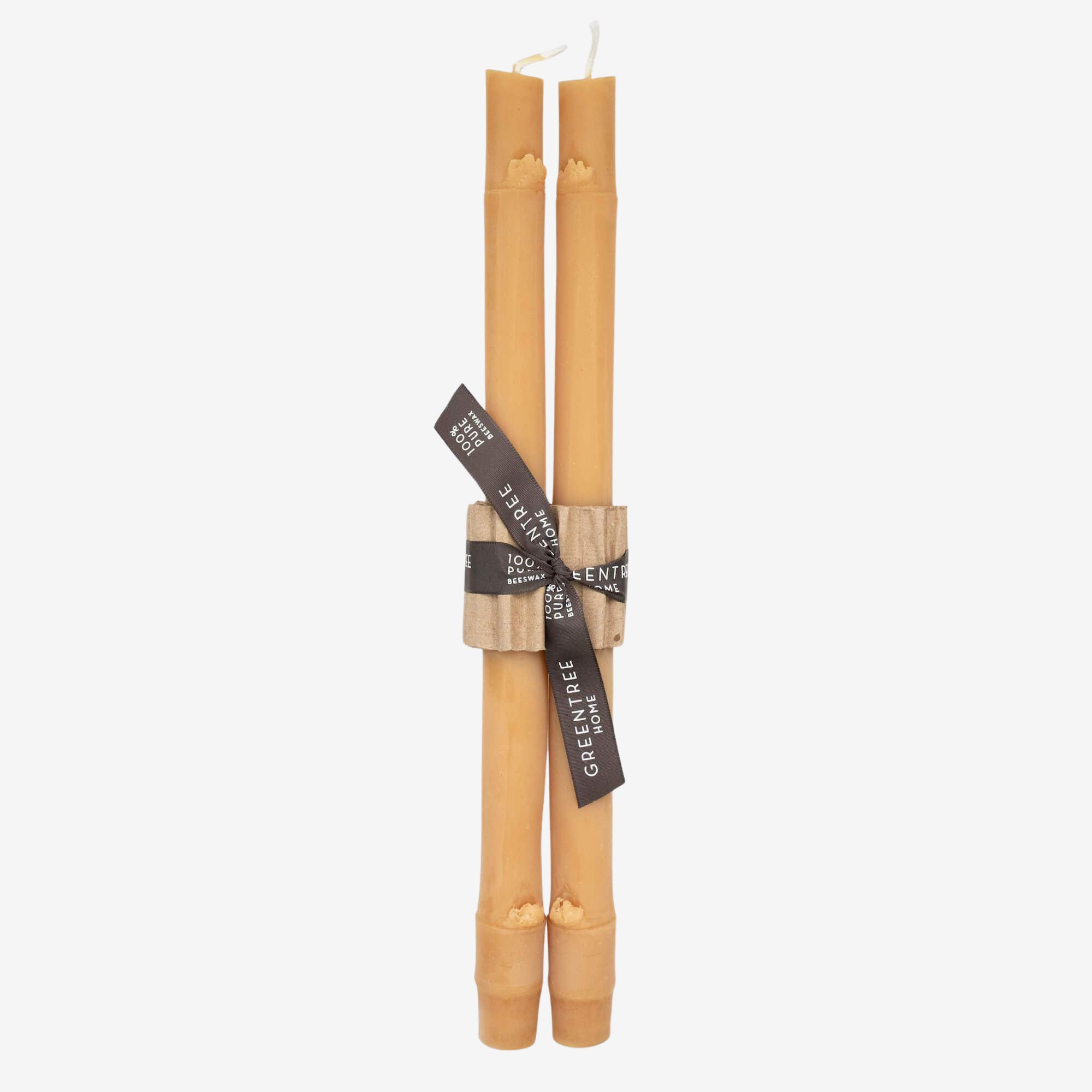 Bamboo Tapered Candle (Pair)