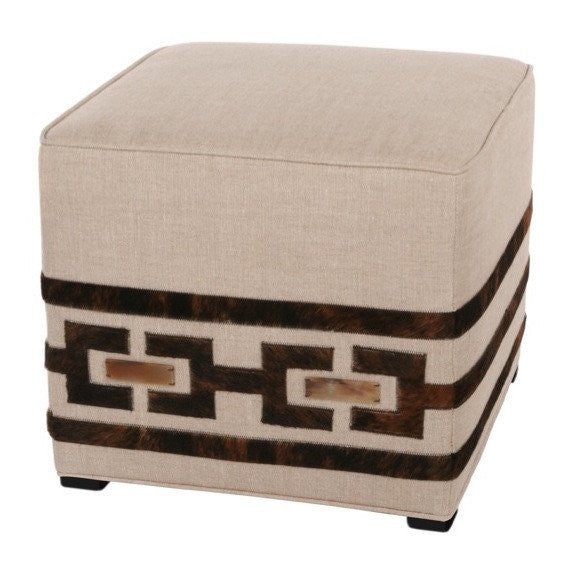 Margot Block Pouf