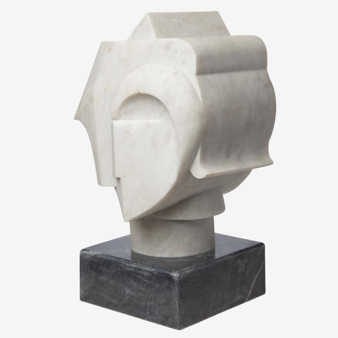 Bust Abstract Marble