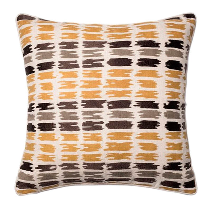 camel tracks decorative pillow